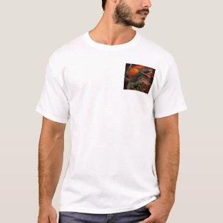 T-shirt Le dragon voient !
