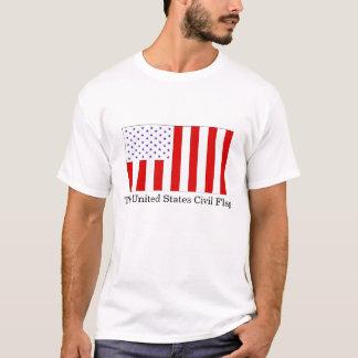 T-shirt Le drapeau civil des Etats-Unis