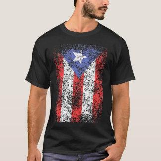 T-shirt Le drapeau de P.R. s'est fané grand