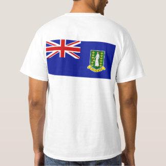 T-shirt Le drapeau des Îles Vierges britanniques