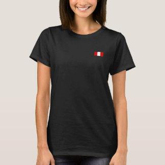 T-shirt Le drapeau du Pérou