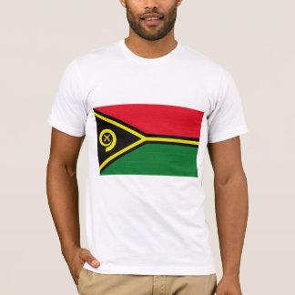 T-shirt Le drapeau du Vanuatu