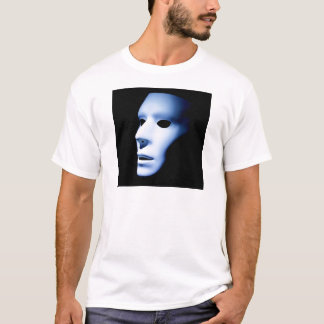 T-shirt Le fantôme aiment le visage regardant Up.jpg