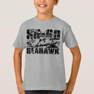 T-shirt Le faucon de mer a badiné le ツョ de base de Hanes