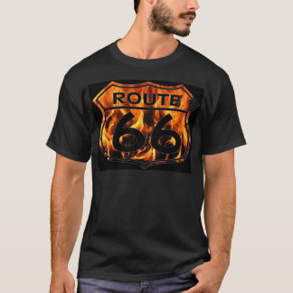 T-shirt Le feu 2 de l'itinéraire 66