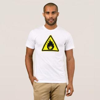 T-shirt Le feu de précaution