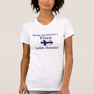 T-shirt Le Finn établit le caractère