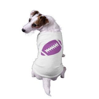 T-shirt Le FOOTBALL choie des sports pourpres du football