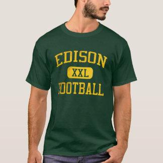 T-shirt Le football de chargeurs d'Edison