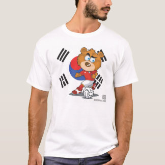 T-shirt le football de la Corée du Sud