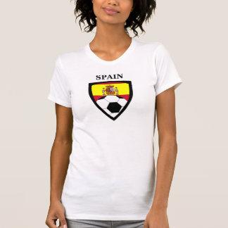 T-shirt Le football de l'Espagne