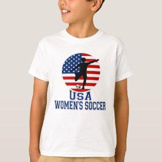 T-shirt Le football des femmes des Etats-Unis