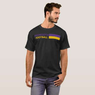 T-shirt Le football du Minnesota