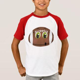 T-shirt Le football folâtre le jour de jeu d'enfants de