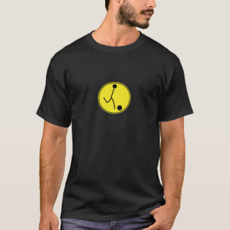 T-shirt Le football (jaune)