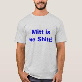 T-shirt Le gant est le Shitt - Romney pour le président