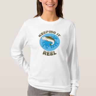 T-shirt Le gardant bobine