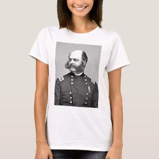 T-shirt Le Général Ambrose E. Burnside de guerre civile de