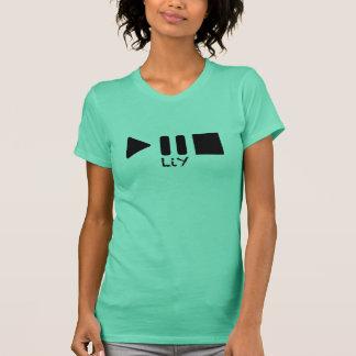 T-shirt Le gilet des femmes d'arrêt de pause de jeu de LIY