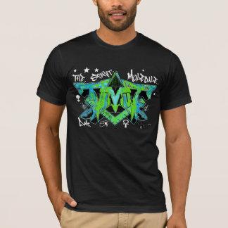 T-shirt Le graffiti d'ayahuasca de DMT de molécule