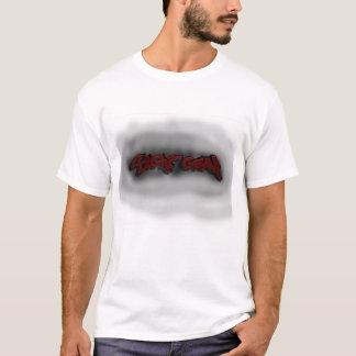 T-shirt Le graffiti de vitesse de vue avec se fanent