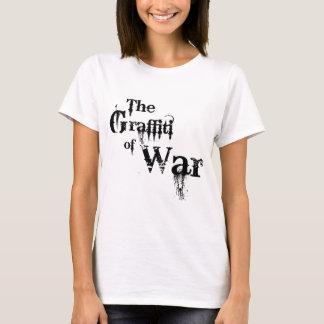 T-shirt Le graffiti du mémorial de barrière du Jersey de