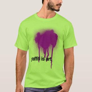 T-shirt Le graffiti est art
