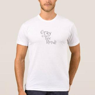 T-shirt Le gris est le nouveau blond (décontracté)