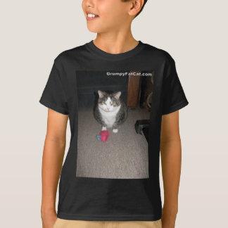 T-shirt Le gros chat grincheux ne s'amuse pas