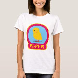 T-shirt Le HIBOU BOO - Poussin