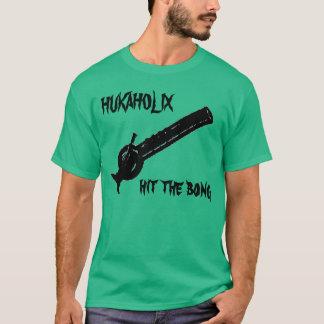 T-shirt le hukaholix a frappé le bong