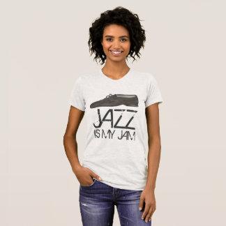 T-shirt Le jazz est ma pièce en t de danseur de chaussure