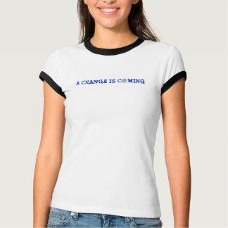 T-shirt Le jeu adulte d'âge, un changement vient, la