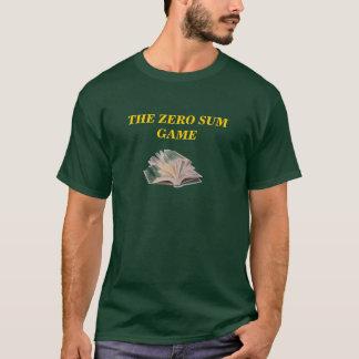 T-shirt Le jeu de somme nulle