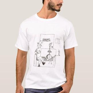T-shirt Le joueur de banjo cherche la consultation