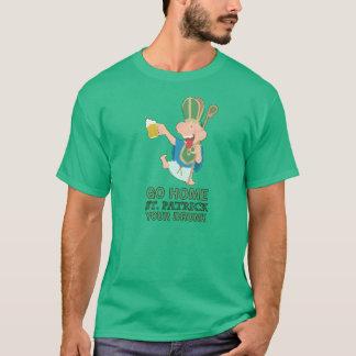 T-shirt Le jour de Patrick de saint