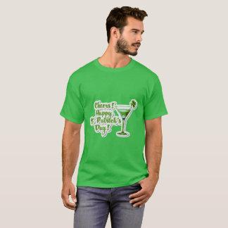 T-shirt Le jour de St Patrick heureux d'acclamations