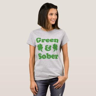 T-shirt Le jour de St Patrick vert et sobre