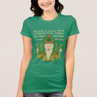 T-shirt Le jour drôle de Patrick de saint serpente les