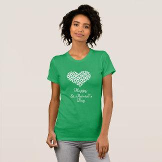 T-shirt Le jour heureux de Patrick de saint - les femmes