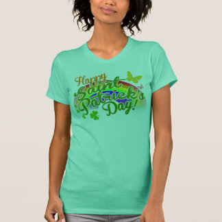 T-shirt Le jour heureux traditionnel de Patrick de saint