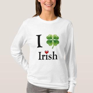 T-shirt le jour irlandais de PATRICK de saint de pièce en