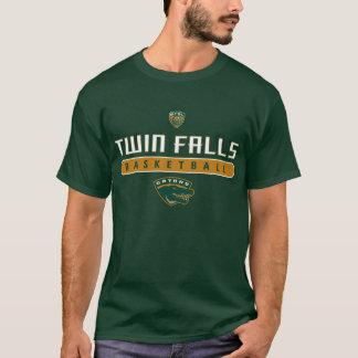 T-shirt Le jumeau tombe des alligators