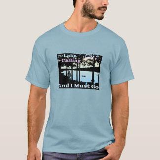 T-shirt Le lac appelle et je dois aller (crépuscule)