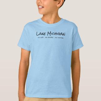 T-shirt Le lac Michigan - humour