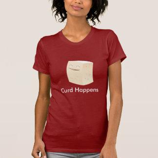 T-shirt Le lait caillé se produit