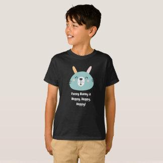 T-shirt Le lapin brouillé est de houblon, de houblon, de