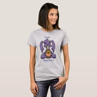 T-shirt Le lapin de zombi aime Egggs