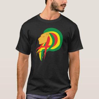 T-shirt Le lion du selassie I de Judah - de Haile