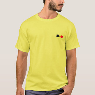 T-shirt Le lion et le coq de la Flandre de la Wallonie,